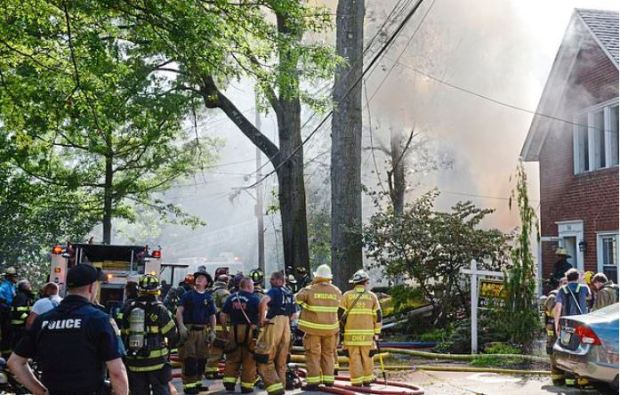 Pennsylvania man blows up his home o daughter's wedding day 6.JPG