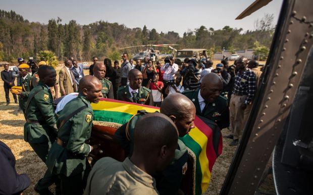 Robert Mugabe funeral 4