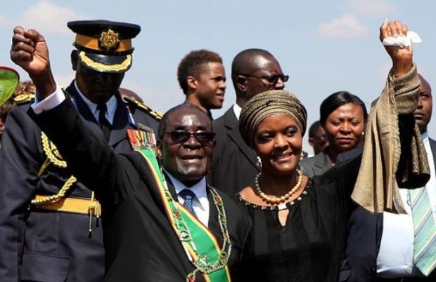 Robert and Grace Mugabe 2