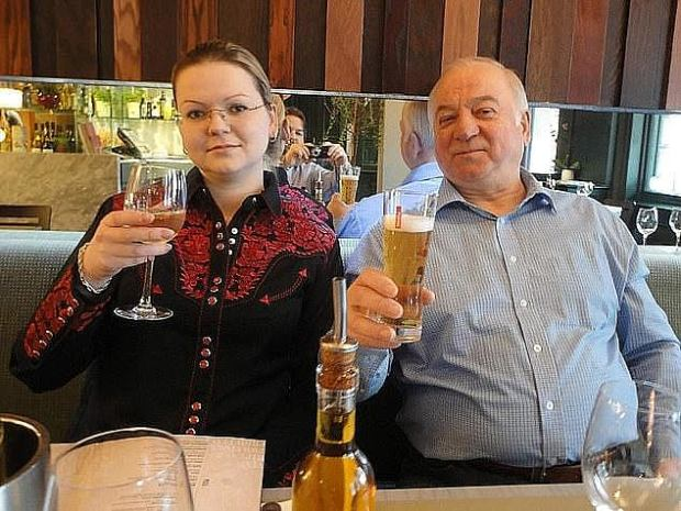 Sergei Skripal with his daughte Yulia Skripal 1