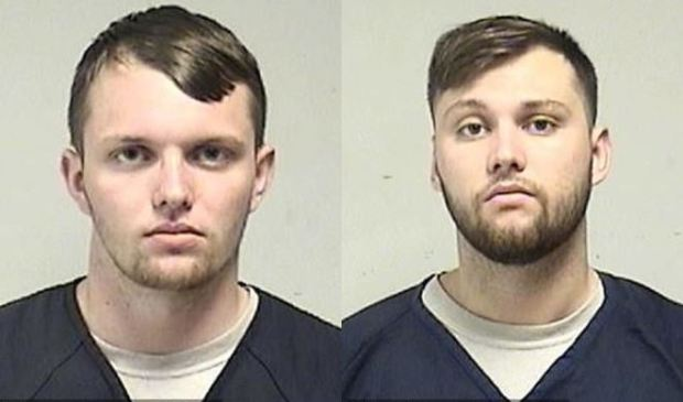 Tyler Thomas Huffhines, [left] and Jacob David Huffhines, [right] 1