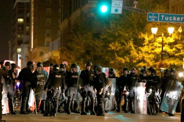 Violent protests in St. Louis over Jason Stockley acquittal in 2017 3