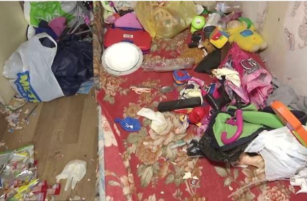 Vladislava Trokhimchuk's filthy home 2