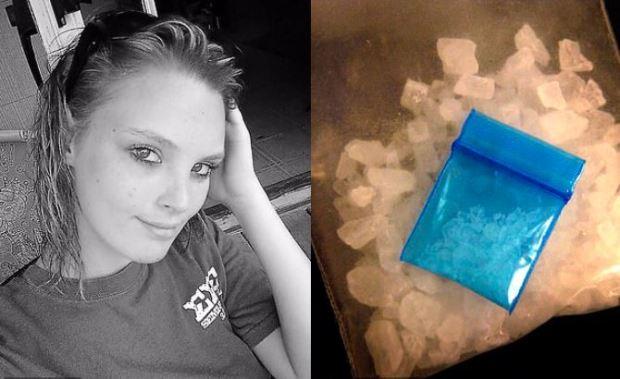Ashley Beth Roland and her Meth bust 1