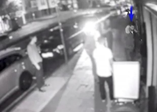 CCTV footage showed O'Brien at RE Bar in Hillingdon, UK.JPG