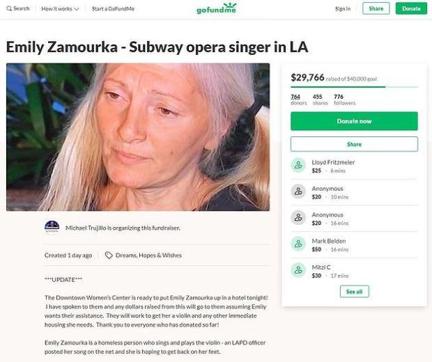 Emily Zamourka crowd funding 1