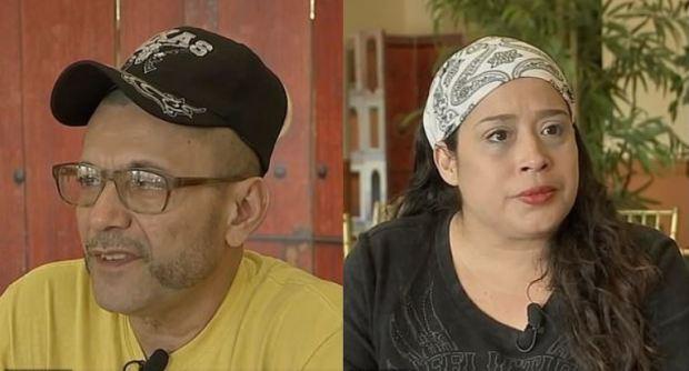 Mariano Serrano, [left], and Cynthia Rivera 1.JPG