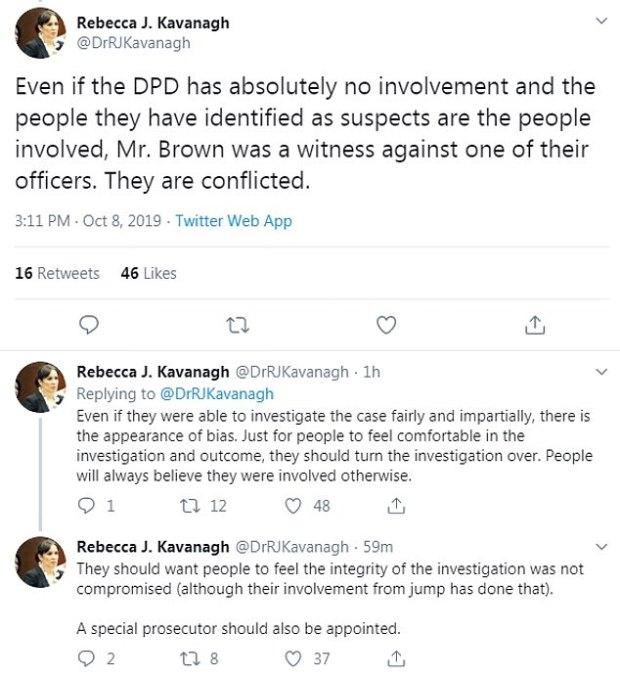 Rebecca Kavanagh tweet on Joshua Brown murder 1.jpg