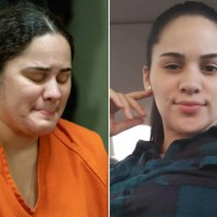 NJ woman who fatally stabbed identical twin sister in drunken rage sobs in court, Amanda Ramirez begged her family for forgiveness, as she's jailed six years