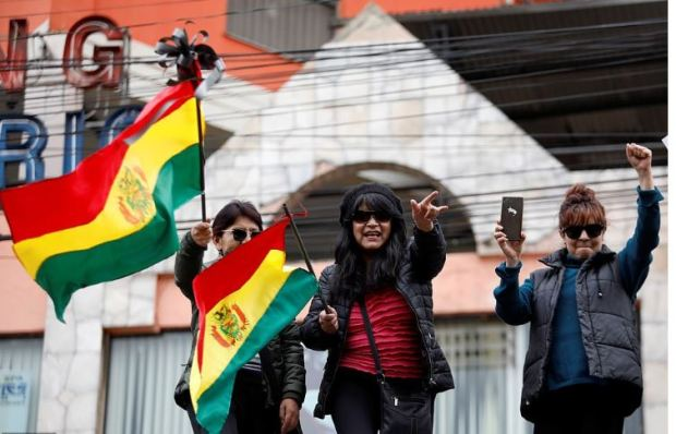 Bolivians celebrate ouster of Evo Morales on the streets of La Paz 4