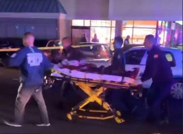 EMS transport Kevin Tyrell Davis after the stabbing 1.JPG
