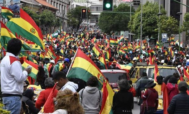 Gleeful Bolivians celebrate ouster of Evo Morales on the streets of La Paz 4.JPG