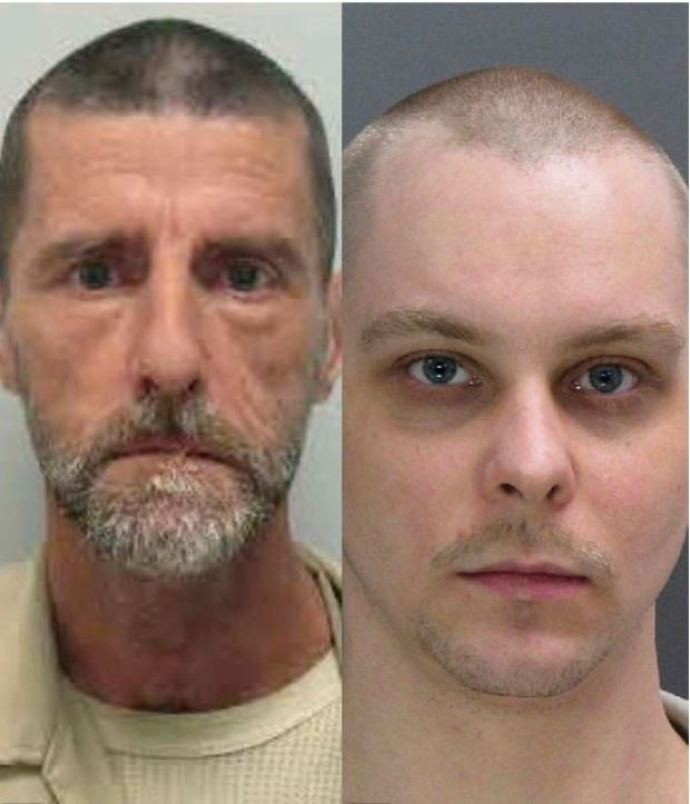John King, (left), and Jason Kelley, (right), 1