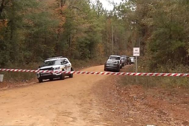 Taylor Rose Williams' body was found in thses Alabama woods 1.JPG