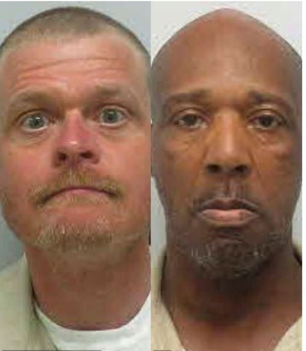 William Scruggs, (left), Jimmy Ham (right), 1