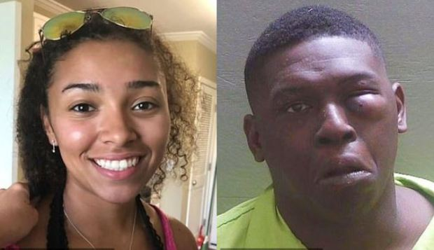 Aniah Blanchard [left] and the man who killed her, Ibraheem Yazeed [right] 1.JPG