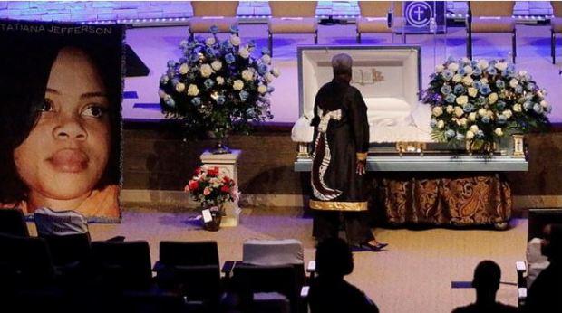 Atatiana Jefferson's funeral 1