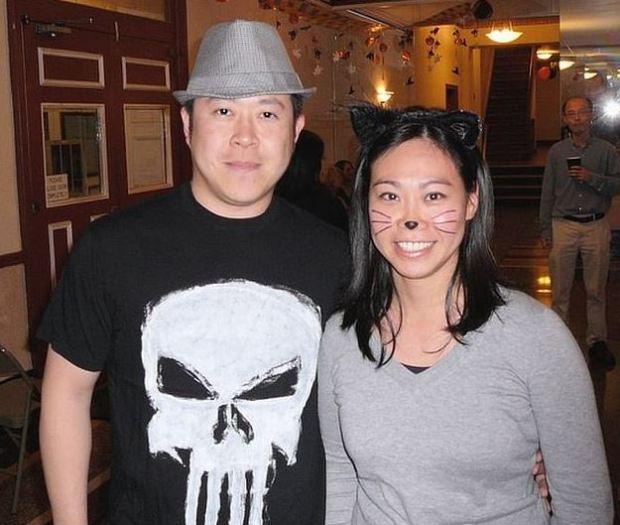 Chaun-Kai Liu ''Tom' Liu  [left], fatally stabbed his wife, Dorothy Liu, [right] 1.JPG