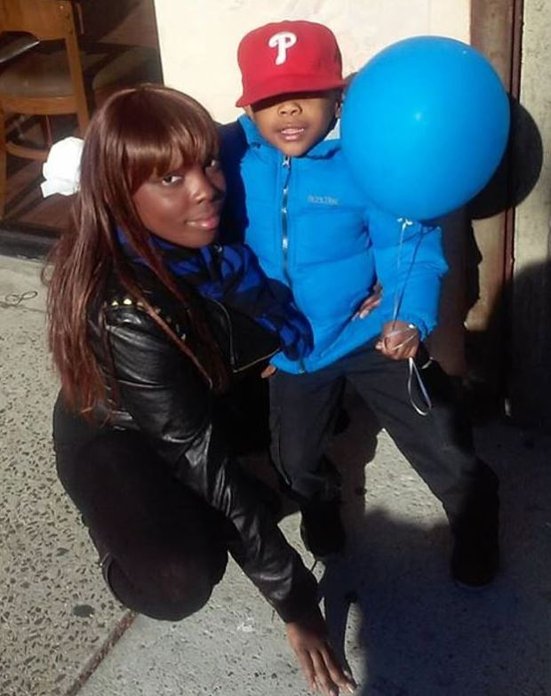 Geraldine Perkins and her son Zymere Perkins 1