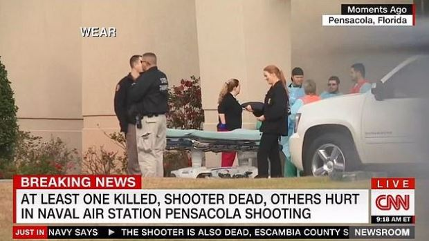 Shooting at Naval Air Station Pensacola, Fla on Dec 6 draws media attention 1.JPG