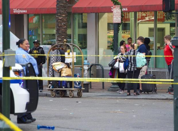 Weekend shooting rampage in New Orlean's French Quarter 11