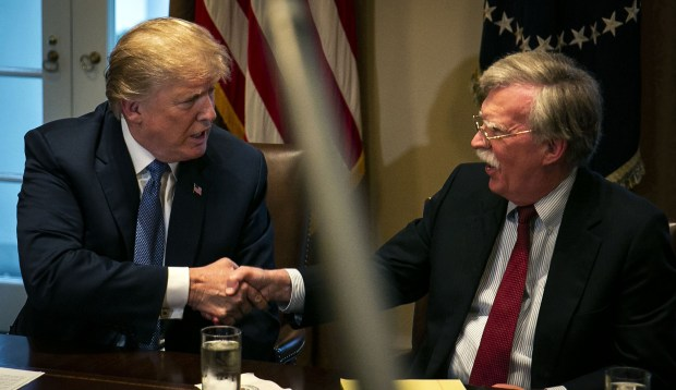 Donald Trump and John Bolton 2