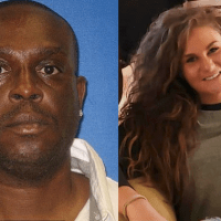 Cops hunt Convicted sex offender Fredrick Hampton, who has been charged with burying Alabama woman, Paighton Houston's body in a shallow grave after she left a bar with two men and texted a friend to say she was 'in trouble'