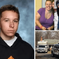 Virginia boy, 17, is charged with double-homicide in the shooting death of his mother and six-year-old brother at home; Levi Henry Norwood then ambushed and critically injured his father before fleeing to NC