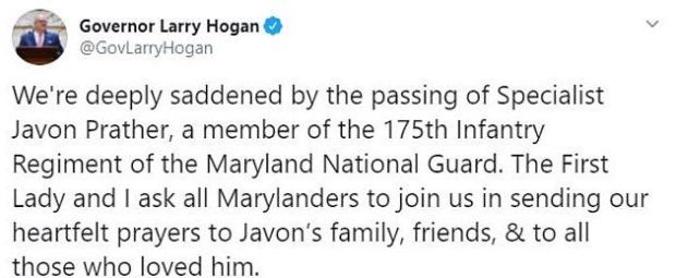 Larry Hogan on Facebook 1