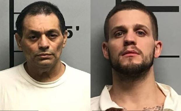 Mauricio Torres, [left], and his stepson, Quinton Martin, [right] 1