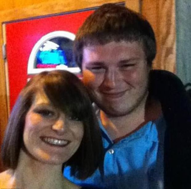 Brittany Smith [left] and her brother Chris McCallie 1