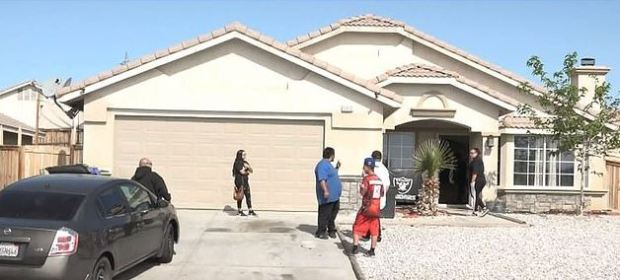 Erlinda Villareal,'s home in Victorville, California 1