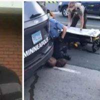 'Please, I can't breathe': Handcuffed George Floyd, a Black man, dies after white Minneapolis cop arresting him for forgery, knelt on his neck while he screamed in pain - Officer Derek Chauvin and three other cops involved may have been fired, as FBI launch investigation