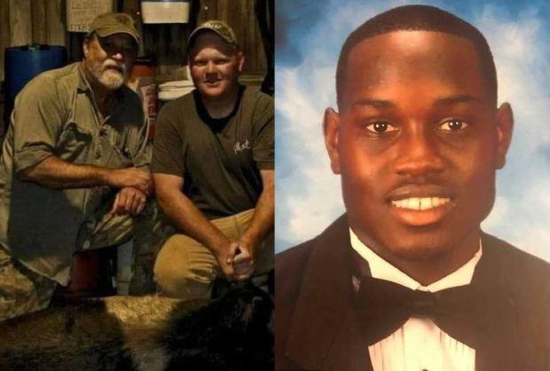 George and Travis McMichael [left], killed Ahmaud Arbery [right] 1
