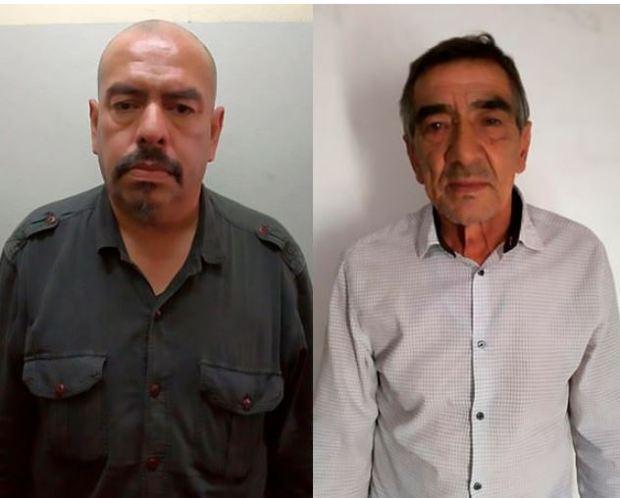 Miguel Saturnino Rolon, (left), and Jorge Raul Alvarez, (right) 1