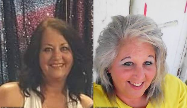 Teresa Peters, [left], and her sister, Tammy Smith, [right] 1