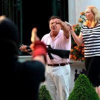 St Louis lawyer and his wife brandish AR-15 and handgun at BLM protesters marching past their mansion in an upscale neighborhood