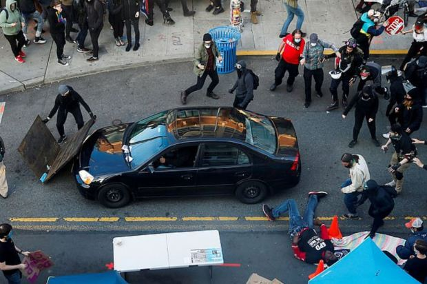 Seattle man plows car into crowd of BLM protesters 3