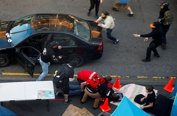 Seattle man plows car into crowd of BLM protesters 5