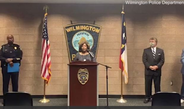 Wilmington NC announce that three police officers in North Carolina have been fired for making racial slurs