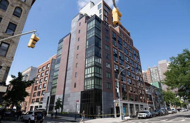 Fahim Saleh was kiled in this NY apt building 5