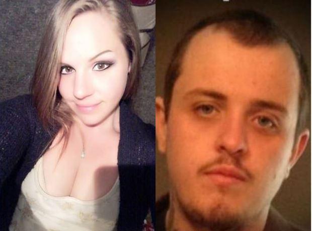 Jessica Lewis, [left], and her boyfriend, Austin 'Cash' Wenner, [right] 1