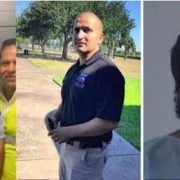 Two cops shot and killed while responding to domestic violence call in Texas - Alleged gunman, Audon Ignacio Caramillo, 23, turned the weapon on himself as police closed