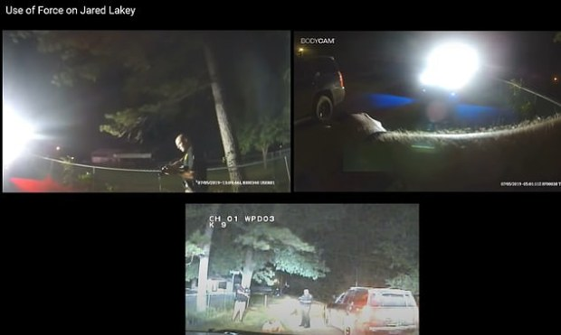 Two Oklahoma cops use taser on Jarred Lakey 53 times 1