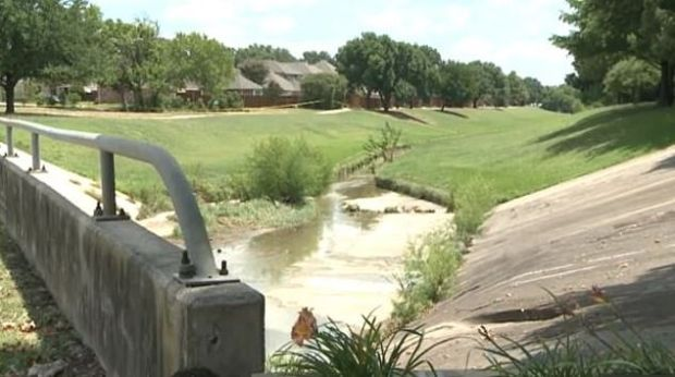 Creek at Legacy Drive and Marchman Way in Plano, Texas 1