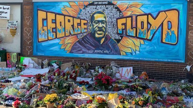 George Floyd memorial 2