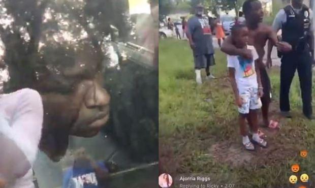 Georgia police officers brutalize car full of children 3
