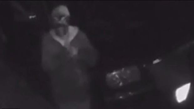 Security camera also shows a man wearing what appears to be blackface around Jennifer McGlellan's property