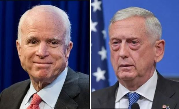 This image has an empty alt attribute; its file name is John-McCain-left-and-James-Mattis-right-1.jpg