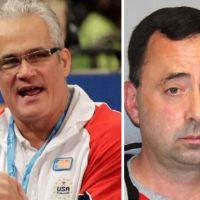 Top US Olympic gymnastics coach, John Geddert, 63,  shoots himself dead at a rest stop, hours after being charged with human trafficking and sexual assault - He ws linked to disgraced team doctor, Larry Nassar